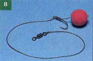 Крепление бойлов - Узел Knotless knot