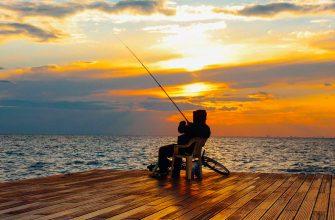 Релаксируйте на рыбалке правильно